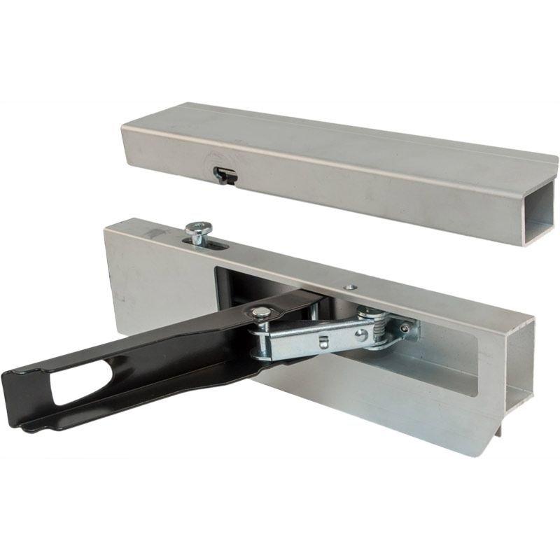 Alu-Einfassverschluss 25 mm f/ür Anh/änger-Bordwand 350 er links